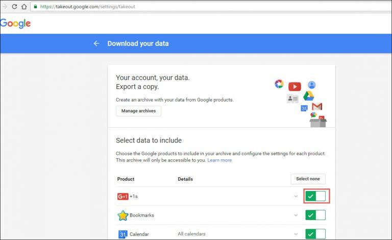 open google take out