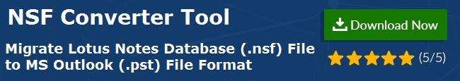 Open NSF File in Outlook