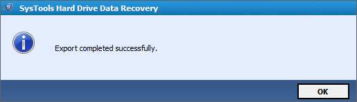 Successfully Recovered Data