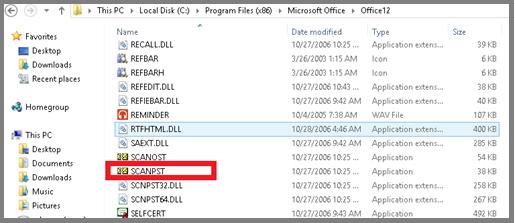 Inbox Repair Tool Not Responding in Microsoft Outlook 2010 / 2007