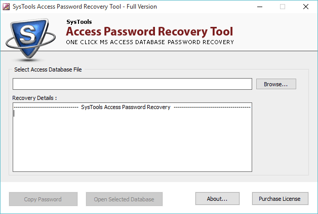 How to Retrieve Microsoft Access Database Password - MDB