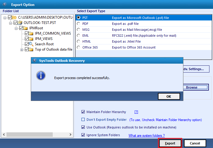 retrieve emails deleted form Outlook