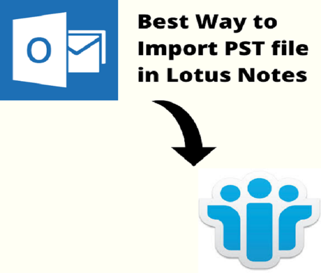 import pst file in lotus notes