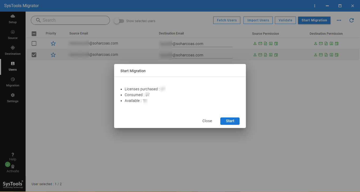 migrate G Suite to another G Suite account