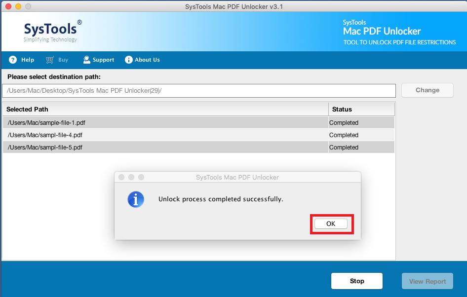 get password free pdf file