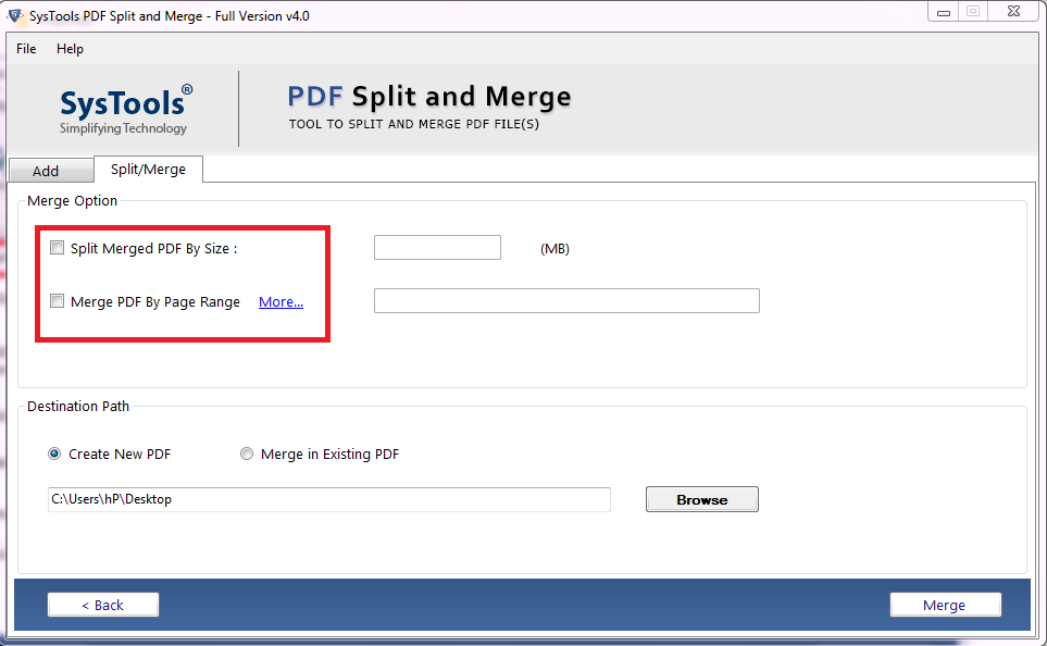 how to join different PDF files into one