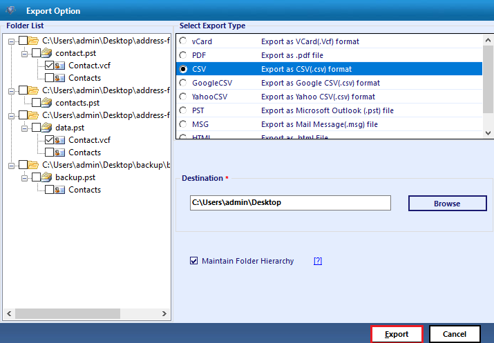 convert-contacts-to-csv