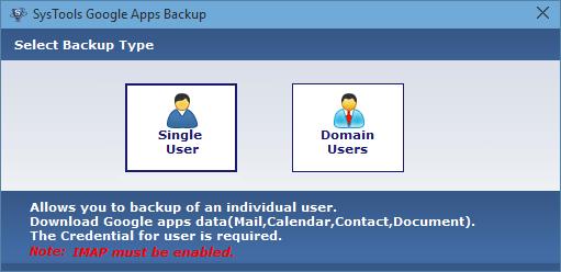 choose user