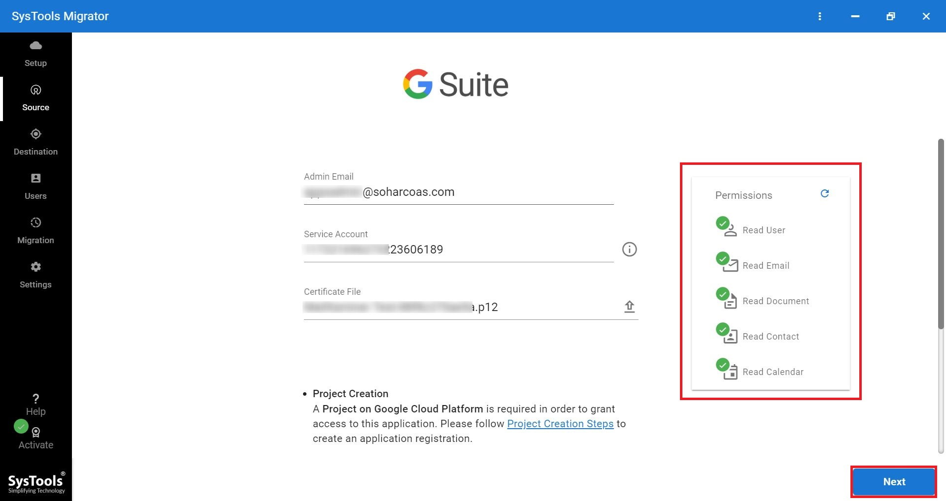 enter google id