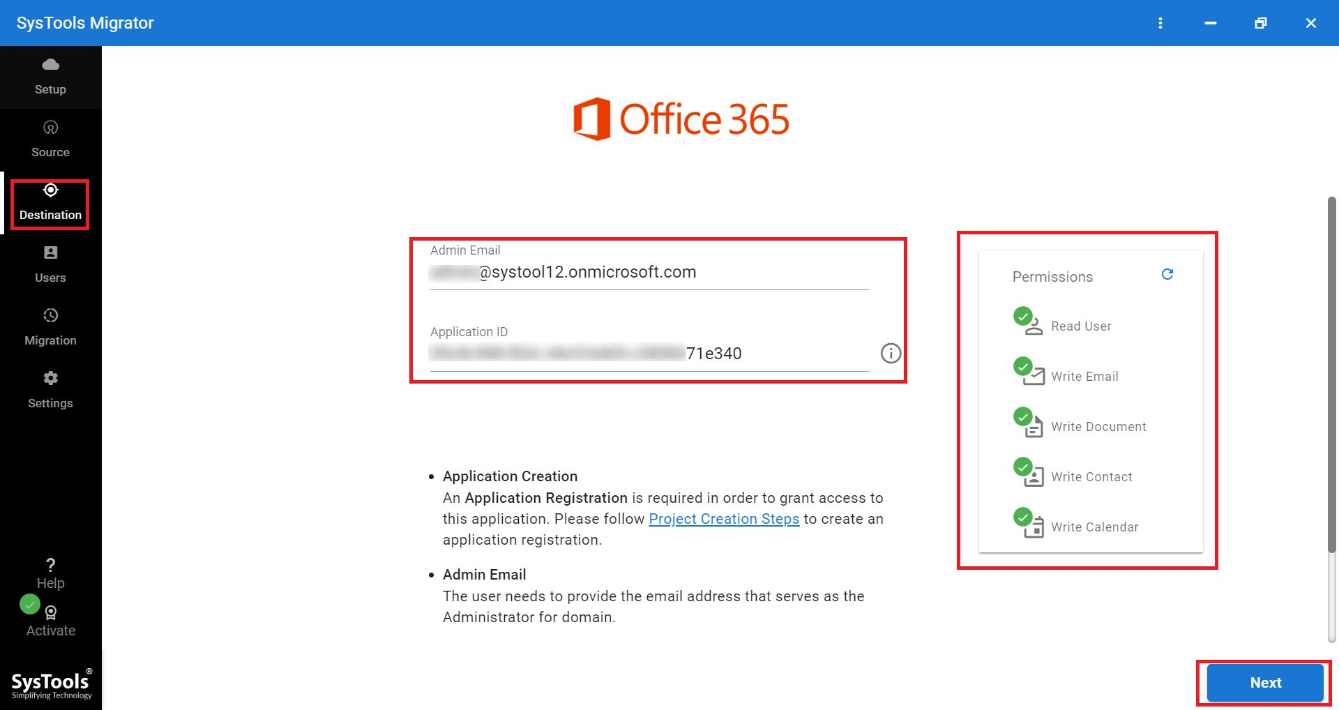 enter office 365 id