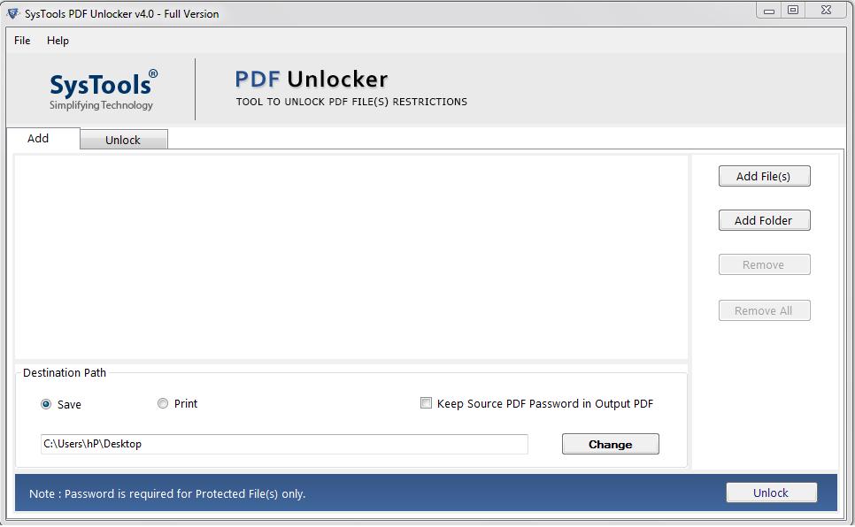 Unlock PDF form for editing