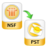 convert nsf file to pst without lotus notes