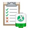 generate CSV report