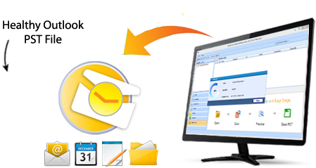 QuickData outlook pst recovery