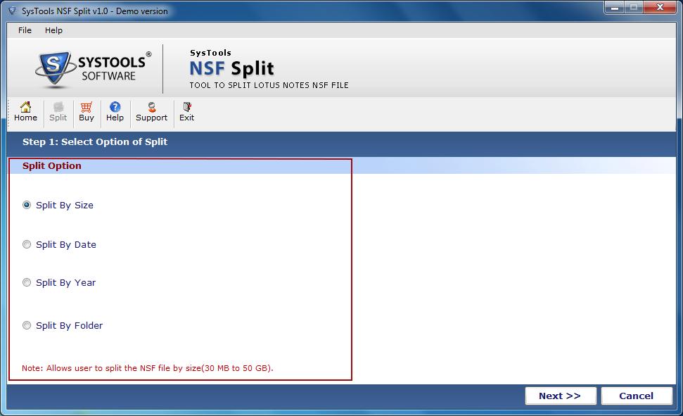 Split NSF Options