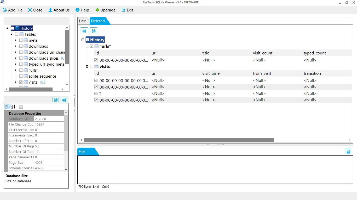 View SQLite Files