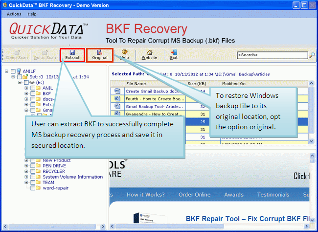 Windows 7 MS Backup Recovery 5.9 full